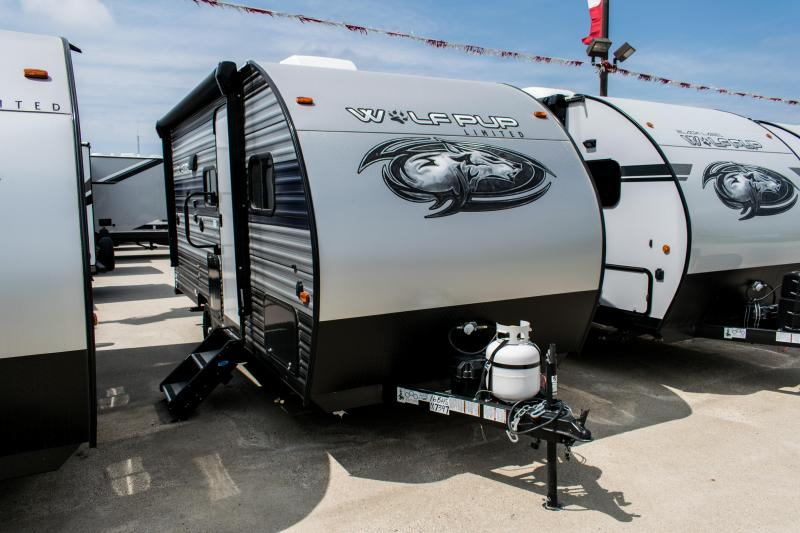 2021 Wolf Pup Limited 16BHS Travel Trailer w/Bunks