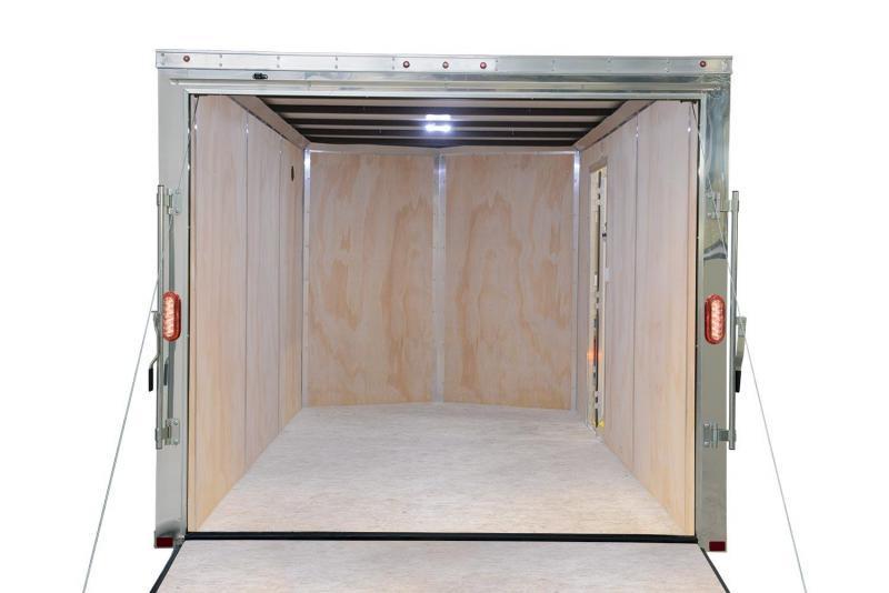 2021 Sure-Trac 6 x 12 Pro Series Enclosed Wedge Cargo 7K Ramp