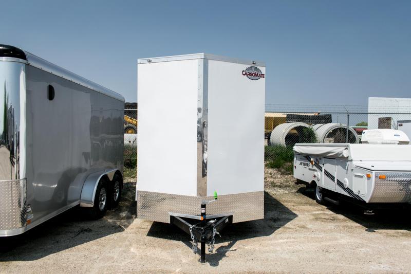 2020 Cargo Mate 6 x 12 Enclosed Cargo Trailer 7K Barn