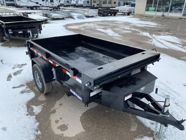 2021 Sure-Trac 5 x 8 Low Profile Homeowner Dump Trailer 5K