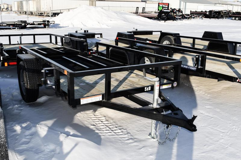 2021 Sure-Trac 5 x 8 Tube Top Utility Trailer 3K Idler