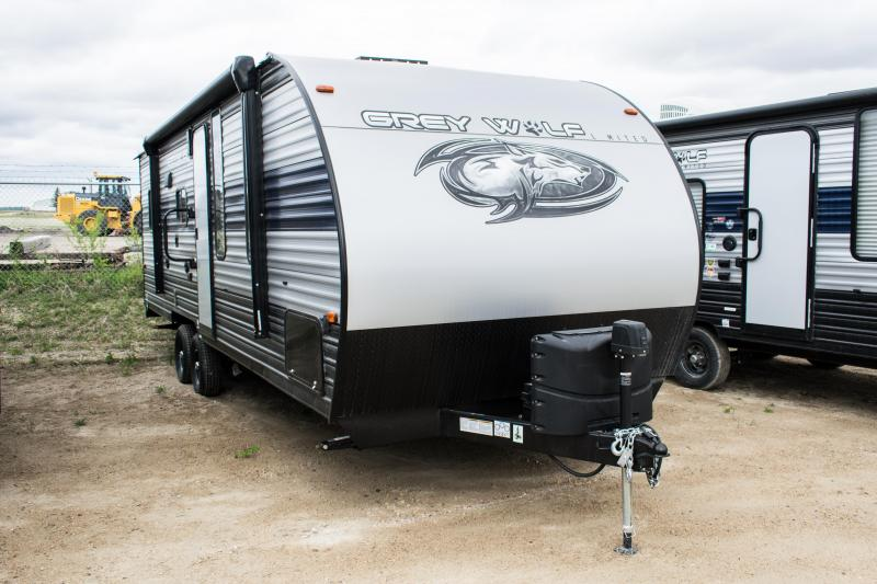 2021 Grey Wolf Limited 22RR Toy Hauler Camper Trailer