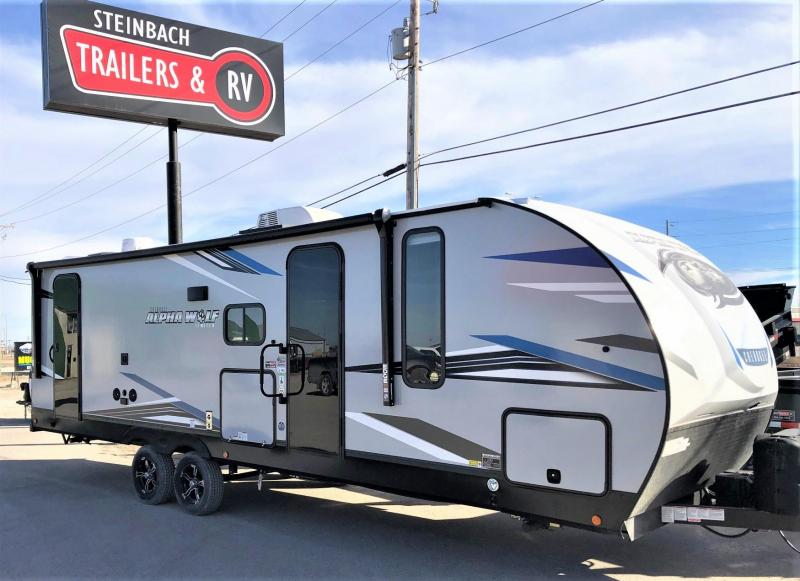 2021 Alpha Wolf Limited 26DBH-L Bunk Model Travel Trailer