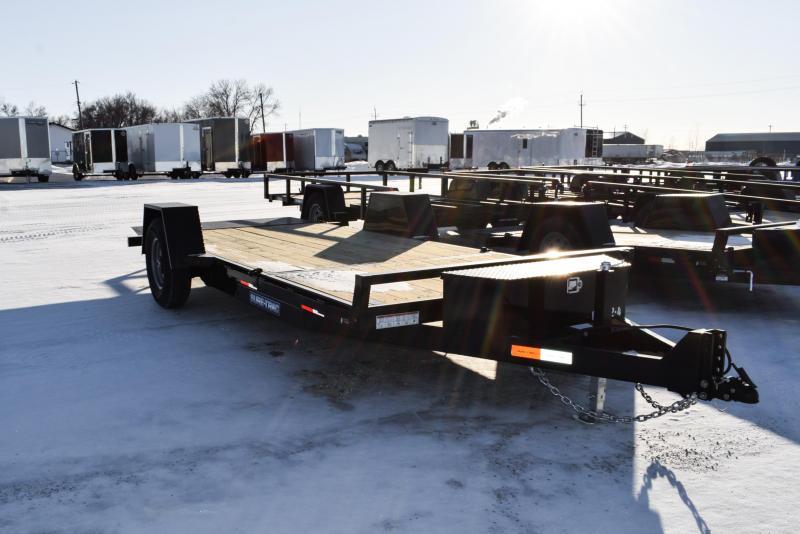 2021 Sure-Trac 6.5x 12+4 Single Axle Tilt Bed Equipment 7.8K