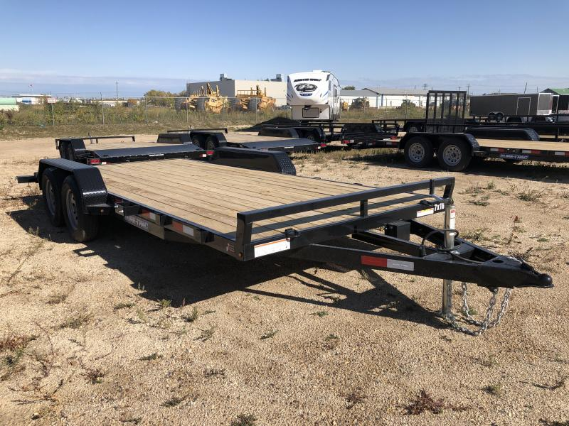2021 Sure-Trac 7 x 18 Car Hauler Trailer TA 7K