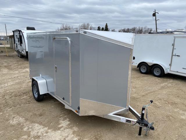 2021 Cargo Mate 6 x 12 Aluminum Enclosed Cargo Trailer 3K Barn