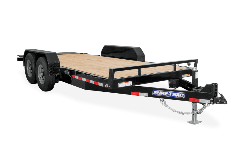 2021 Sure-Trac 7 x 16 Tilt Bed Equipment Trailer  10K