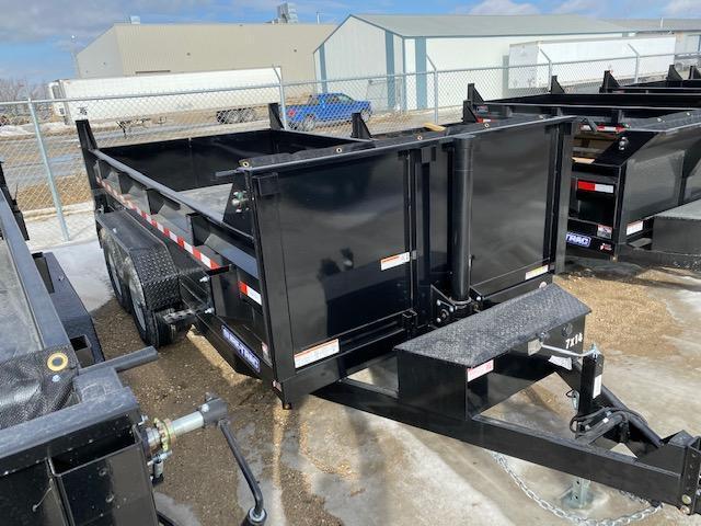 2021 Sure-Trac 7 x 14 HD Low Profile Telescopic Dump Trailer 14K