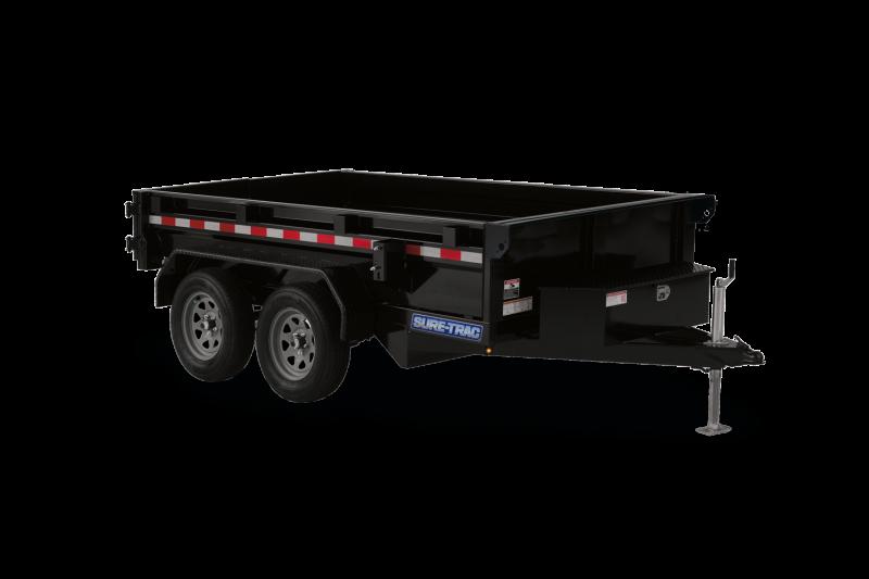 2021 Sure-Trac 5 x 10 Low Profile Homeowner Dump Trailer 7K