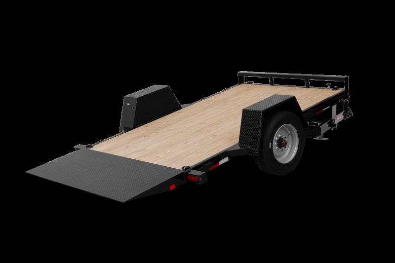 2021 Sure-Trac 6.5 x 12+4 Single Axle Tilt Bed Equipment 10K