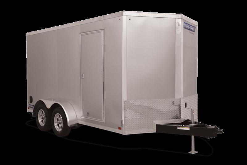 2021 Sure-Trac 7 x 14 Pro Series Wedge Cargo TA 7K Ramp