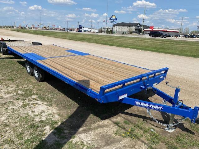 2022Sure-Trac 8.5 x 24 Low Profile Flat Deck Deckover 10K