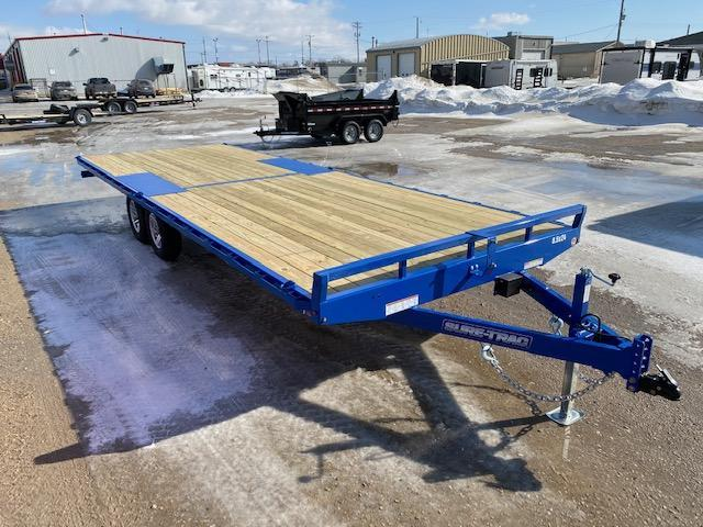 2021 Sure-Trac 8.5 x 24 Low Profile Flat Deck Deckover 10K