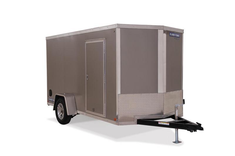 2021 Sure-Trac 6 x 12 Pro Series Enclosed Wedge Cargo 7K Barn