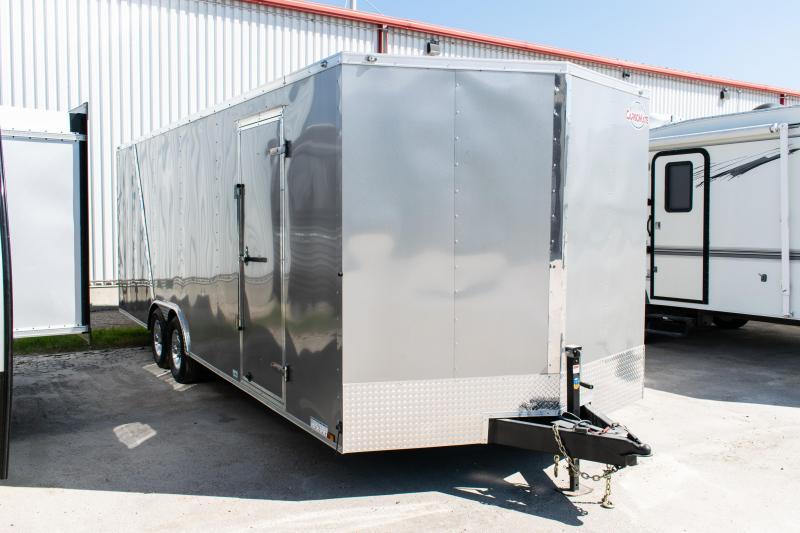 2021 Cargo Mate 8.5 x 24 Enclosed Cargo Trailer 10K Ramp