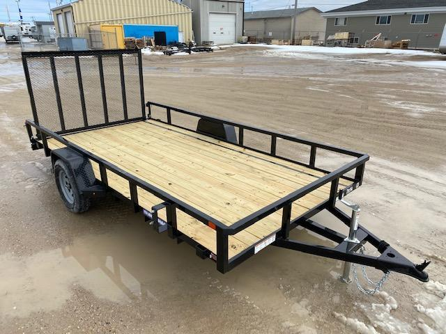 2021 Sure-Trac 7 x 14 Tube Top Utility Trailer 3K Idler