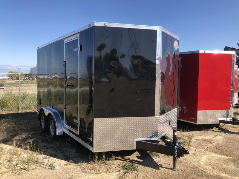 2021 Cargo Mate 7.5 x 14 Enclosed Cargo Trailer +12