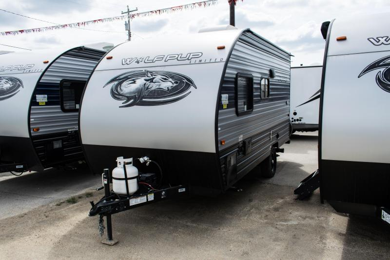 2021 Wolf Pup Limited 14CC Small Light Travel Trailer RV