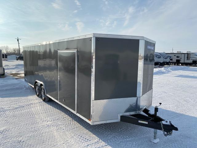 2020 Sure-Trac 8.5 x 24 Cargo Enclosed Car / Racing Trailer 10k Ramp