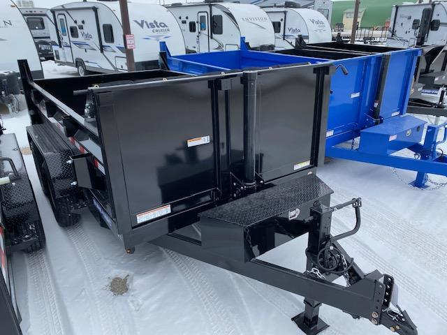 2021 Sure-Trac 7 x 12 HD Low Profile Telescopic Dump Trailer 14K