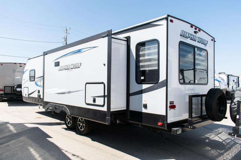 2021 Alpha Wolf Limited 26RL-L Ultimate Couples Travel Trailer RV