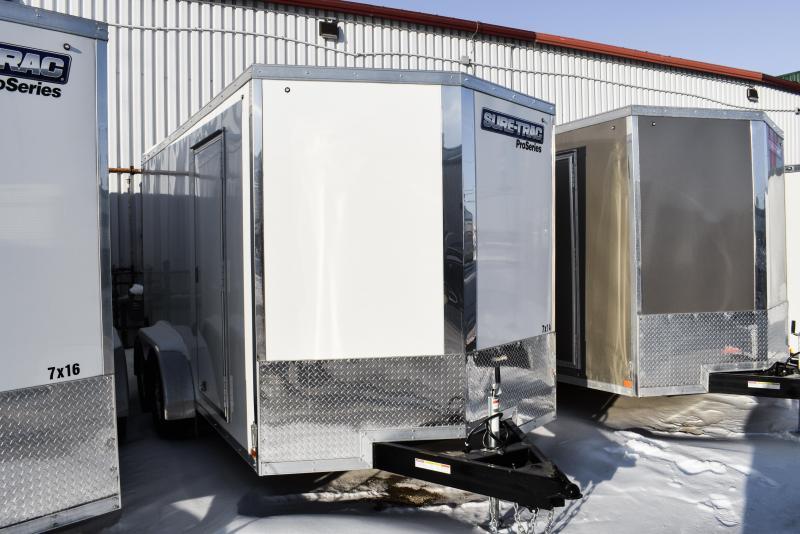 2021 Sure-Trac 7 x 14 Pro Series Enclosed Wedge Cargo 7K Ramp