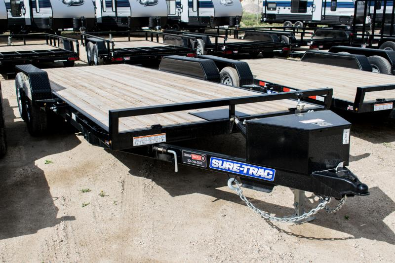 2020 Sure-Trac 7 x 20 Car Hauler Power Tilt 10K