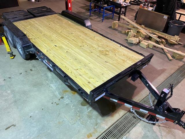 2021 Sure-Trac 7 x 15+3 Universal Ramp Equipment Trailer 14K