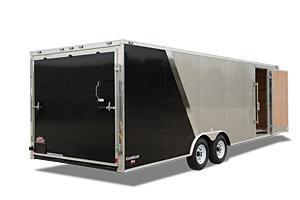 """2022 Cargo Mate 8.5 x 24 Enclosed Cargo Trailer +6"""" Ramp 10K"""