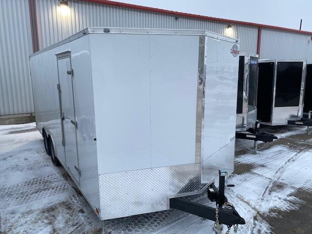 2021 Cargo Mate 8.5 x 20 Enclosed/Cargo Car / Racing Trailer 10K Ramp
