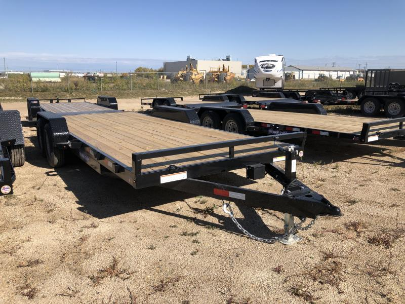 2021 Sure-Trac 7 x 20 Car Hauler Trailer TA 10K