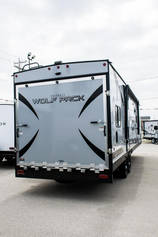 2020 Wolf Pack 27pack10 Bumper Pull Bunk Model Toy Hauler RV