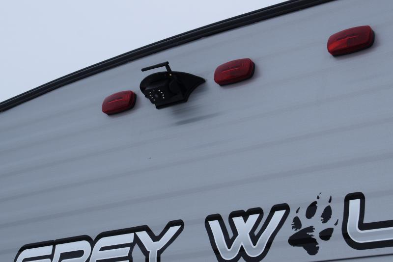 2022 Grey Wolf Limited 26DBH Bunk Model Travel Trailer