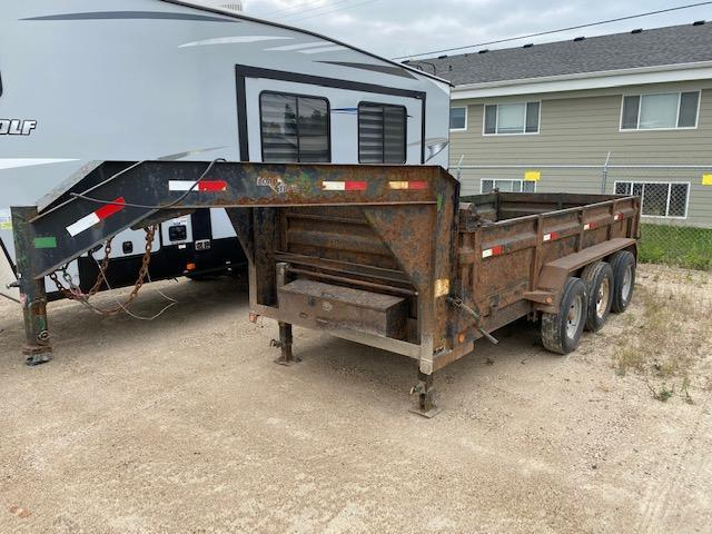 2012 Load Trail GD21 7 x 16 Gooseneck Dump Trailer 21K