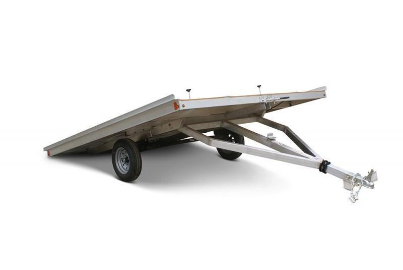2022 Snopro Extreme 12XT 2-Place Tilt Deck Snowmobile Trailer 3K