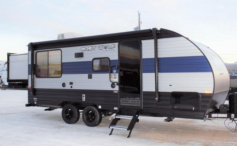 2021 Grey Wolf  Limited 19SM Travel Trailer Sleeps Up To 8