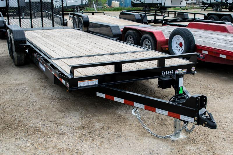 2020 Sure-Trac 7 x 18+4 Tilt Bed Equipment  14K