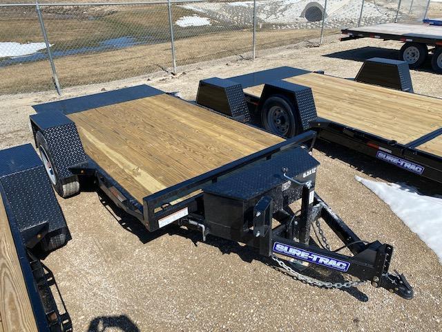 2021 Sure-Trac 6.5 x 12 Single Axle Tilt Bed Equipment 10K