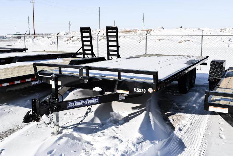 2021 Sure-Trac 8.5 x 20 Low Profile Flat Deck Deckover 10K
