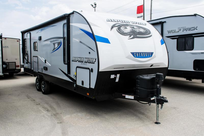 2020 Alpha Wolf 23RD Couples Model Travel Trailer RV