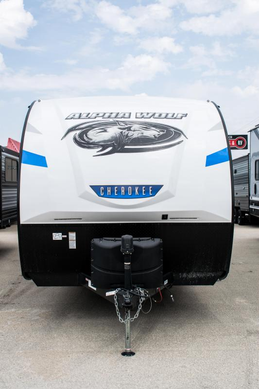 2021 Alpha Wolf 23RD Couples Model Travel Trailer RV