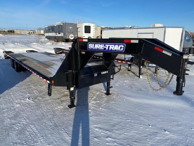 2021 Sure-Trac 8.5 x 25+5 HD Low Profile Beavertail Deckover GN 30K