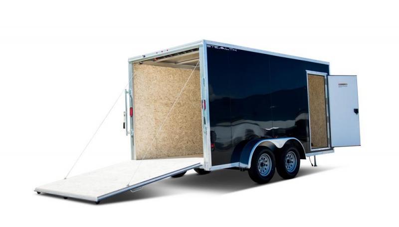 2022 Stealth 7 X 14 Enclosed Aluminum Cargo Trailer 7K Ramp