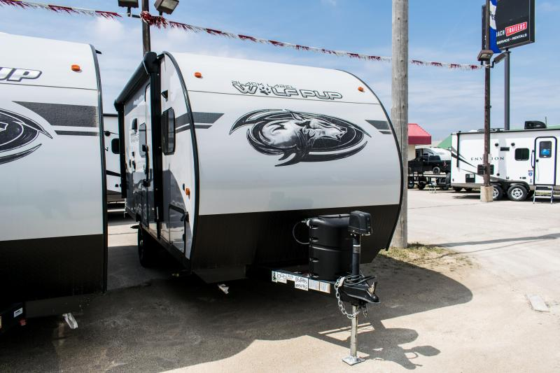 2020 Wolf Pup Limited 16BHS Black Label Travel Trailer w/Bunks