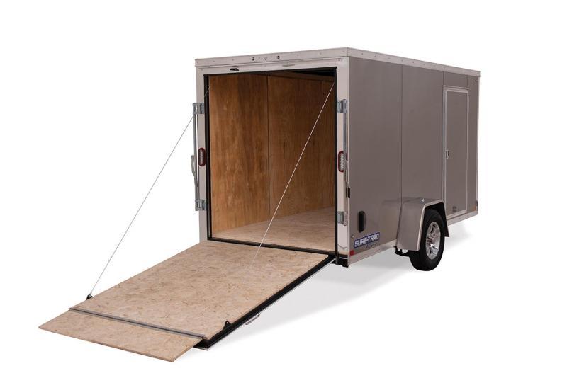 2021 Sure-Trac 6 x 12 Pro Series Enclosed Wedge Cargo 3K Ramp