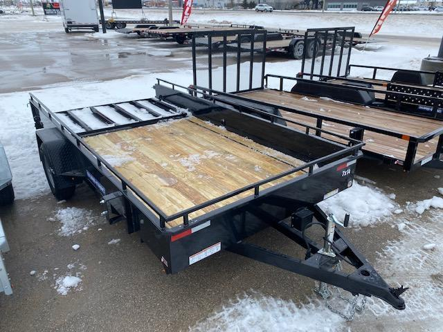 2021 Sure-Trac 7 x 14 Steel High Side Trailer 5K Brake