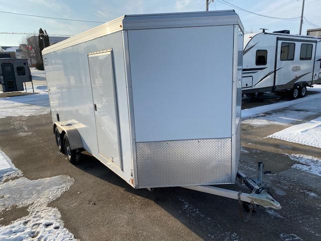 2015 Triton Trailers Vault 7 x 16 Aluminum Enclosed Cargo Trailer 7K Barn