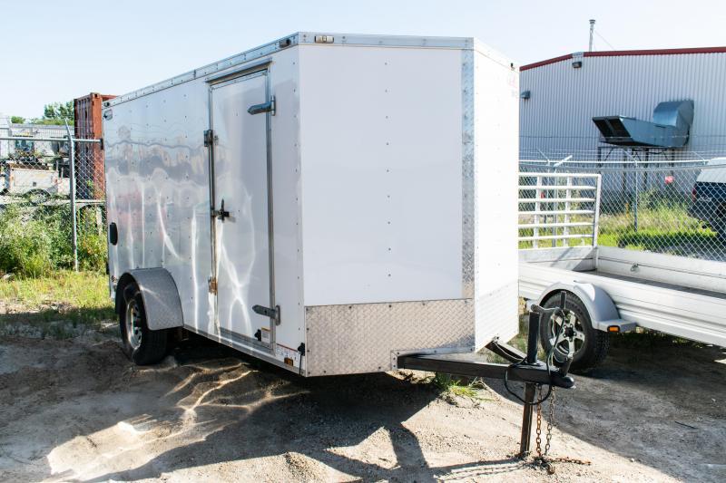 2016 Cargo Mate 6 x 12 Enclosed Cargo Trailer 3K Barn