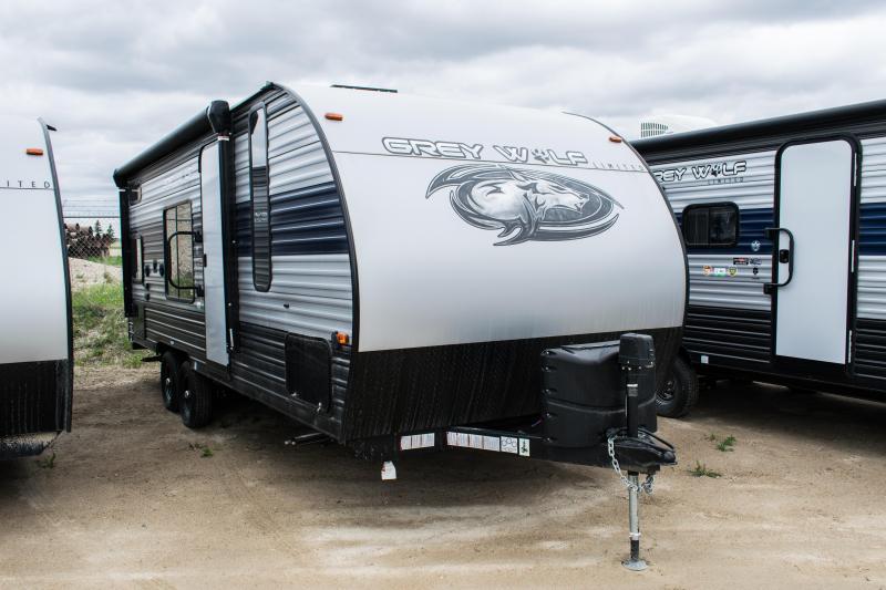2021 Grey Wolf Limited 22MKSE Travel Trailer Bunk Model RV