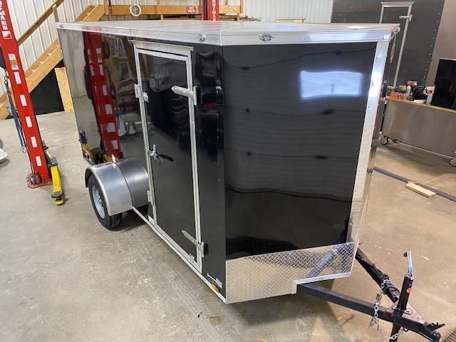 2021 Cargo Mate 6 x 12 Enclosed Cargo Trailer 3K Barn